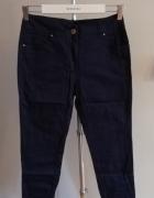 Granatowe spodnie promod...