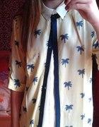 koszula w palmy nowa stradivarius...