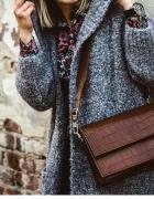 NOWA skórzana torebka w stylu Vintage Fabiola