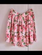 Nowa spódnica Evie L XL 42 kwiatowy wzór kwiatki...