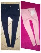 Jeansy elastyczne xs...