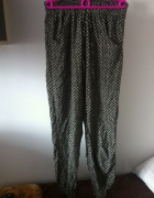 Szerokie spodnie alladynki Dresy etniczne wzory M...