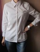 koszula w paski z kieszonką...
