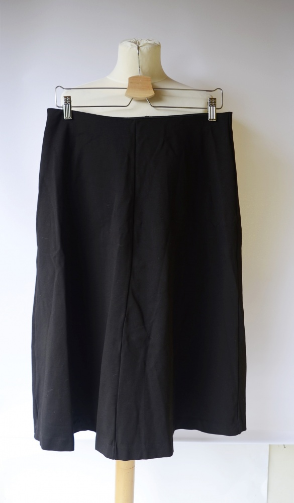 Spódnice Spódniczka Czarna Rozkloszowana Lindex Dłuższa Long M 38