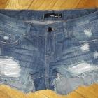 Spodenki jeansowe Tally Weijl XS przetarcia