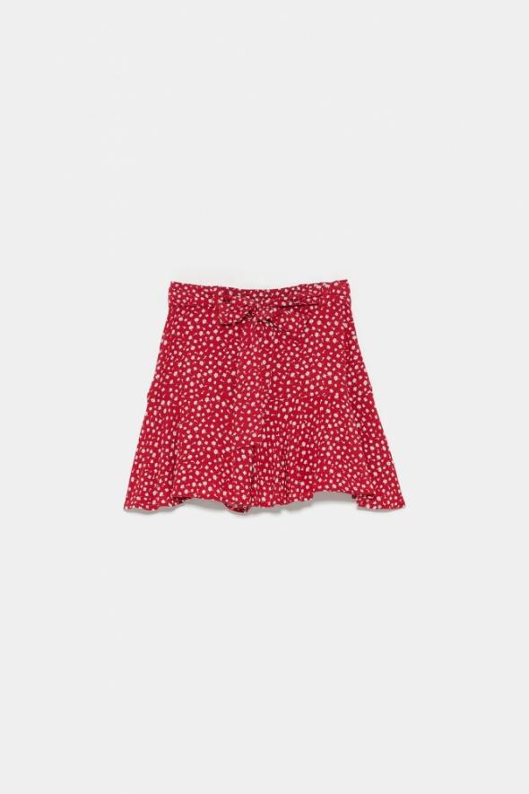 Spodenki Spódnicospodnie ZARA czerwone