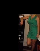 Sprzedam lub wymienię zieloną sukienkę M 38...