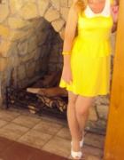 Żółta sukienka rozm 40...