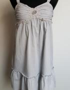 Szara sukienka House S...