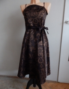 Wzorzysta sukienka L...