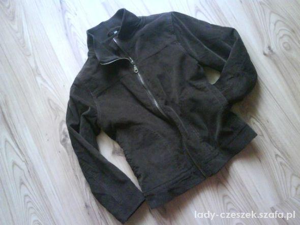 nowa sztruksowa kurtka katana chłopięca 140