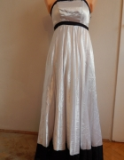 Suknia odcinana 38