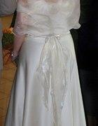 Suknia sukienka ślubna wieczorowa Spódnica gorset...
