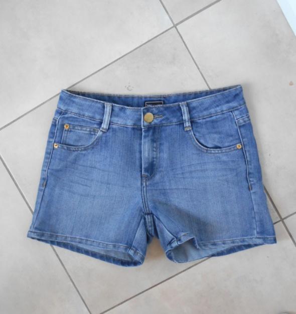 Warehouse asos jeansowe spodenki szorty jeans klasyka