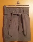 nowa spódnica przed kolano wysoki stan śliczna...