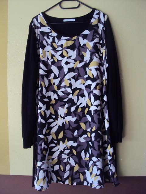 sweterkowa sukienka...