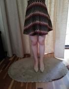 Spódnica krótka wielobarwna...