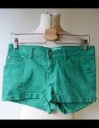 Spodenki Krótkie Zielone S 36 Gina Tricot Jeansowe...