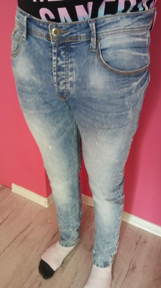 Spodnie Jeansy męskie