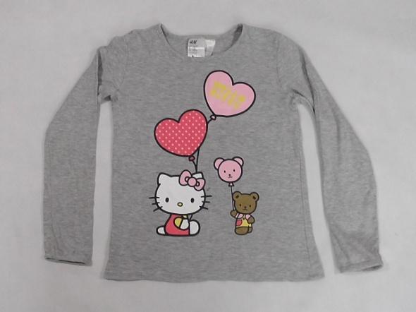 H&M Hello Kitty bluzka dziewczeca 6 do 8 lat rozm 122 do128