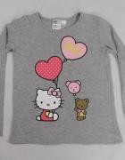 H&M Hello Kitty bluzka dziewczeca 6 do 8 lat rozm 122 do128...
