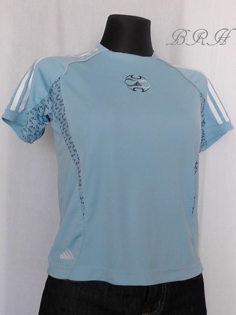 Adidas bluzka niebieska