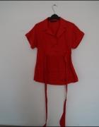Czerwona koszula Zara S...