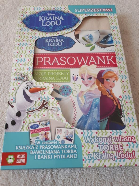Disney Frozen prasowanki Kraina Lodu