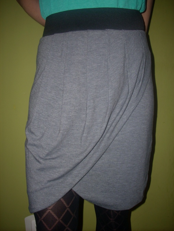 Spódnice Spódnica melanż kopertowa Orsay