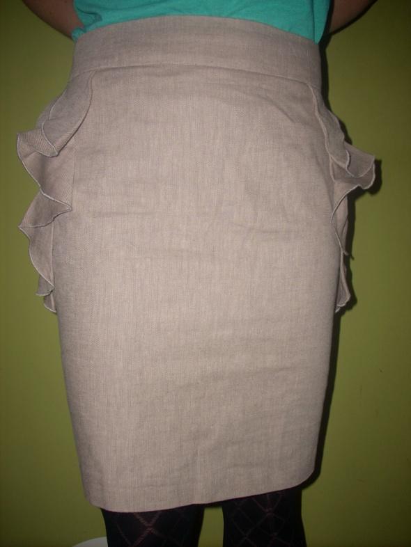 Spódnice Lniana spódnica Orsay