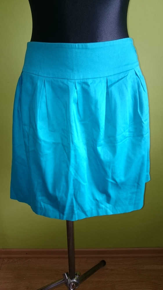 Spódnice Spódniczka turkusowa Mohito