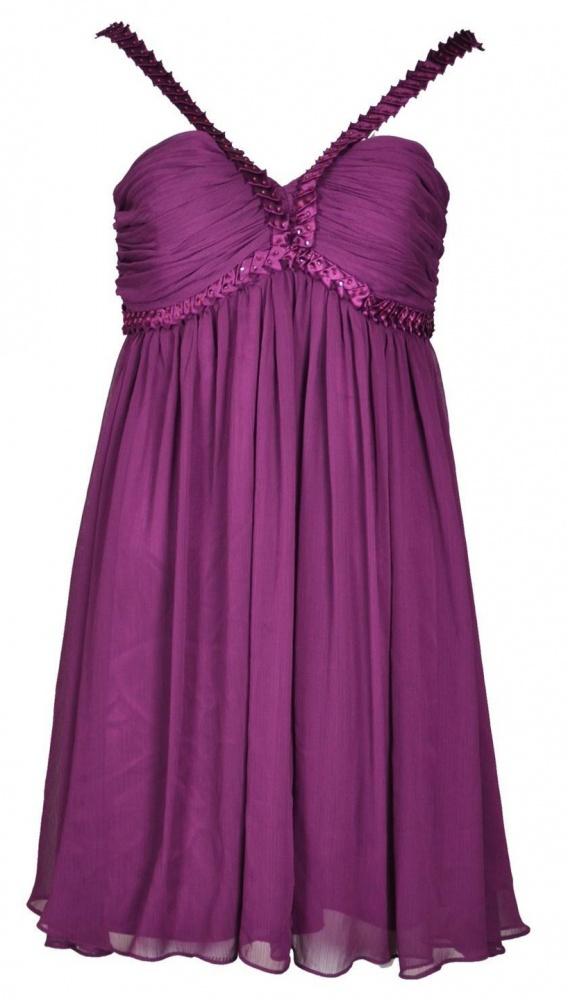 rozkloszowana suknia new look...