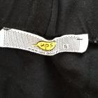 Czarna mini spódniczka gumka elastyczna XS S M 36 34 38 koronka do legginsów uniwersalna