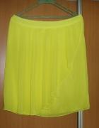spódnica żółta mgiełka 42 44 H&M nowa...