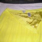 spódnica żółta mgiełka 42 44 H&M nowa