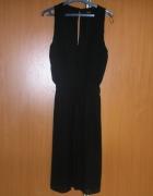 sukienka mgiełka midi mała czarna 36 S Lindex...