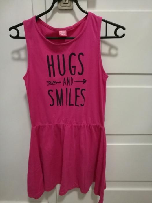 Różowa sukienka 158 164