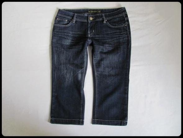 Spodenki Spodenki jeansowe damskie za kolano XL 42