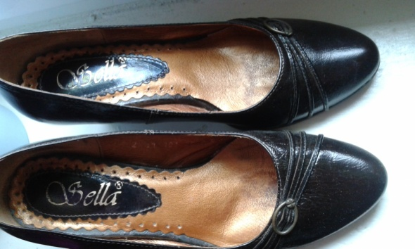 Skórzane eleganckie buty