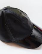 Czapka Bejsbolówka Czarna H&M One Size Skóra Imitacja...