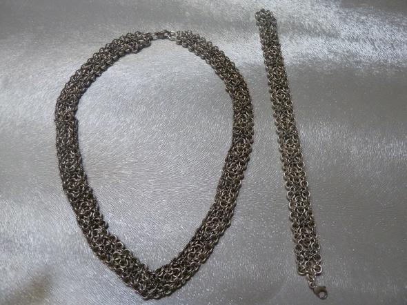 naszyjnik srebro