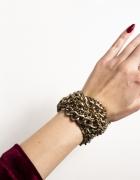 Zara złota bransoletka bransoleta z łańcuchów łańcuchowa...