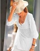 biała tunika