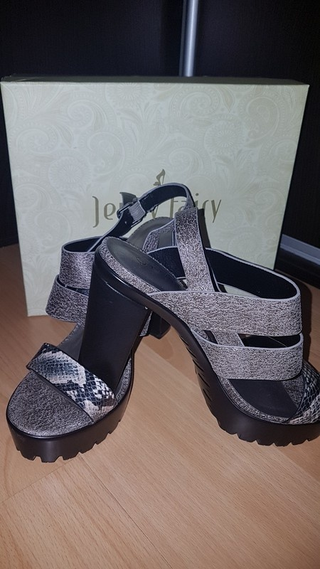 Sandały Sandały szare