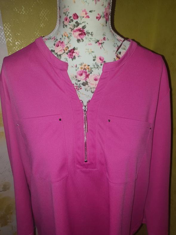 Różowa zip