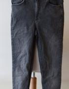 Spodnie Szare Poszarpane 28 Cubus XS 34 Rurki...