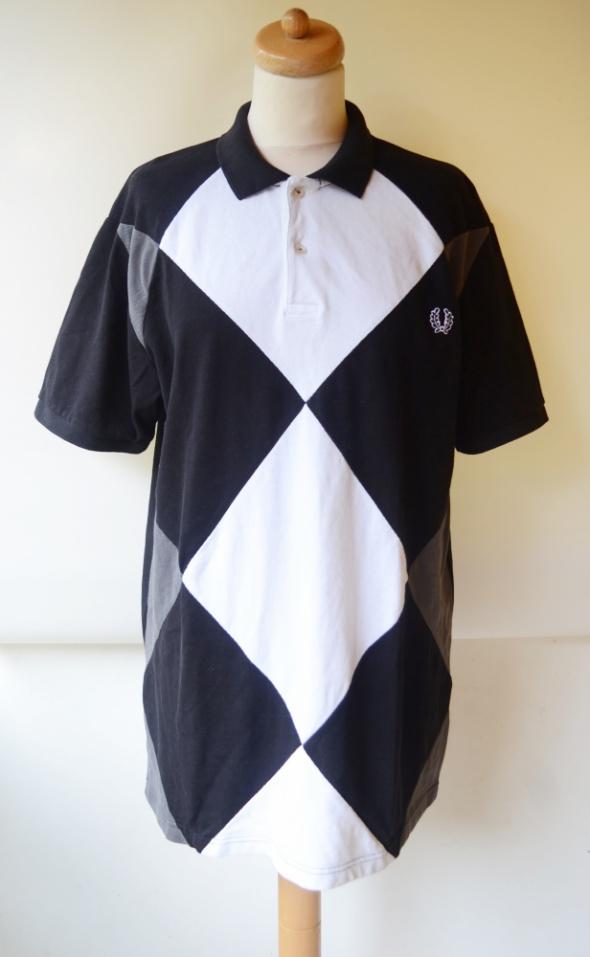 Koszulka Polo Fred Perry 3XL Bluzka Kołnierzyk Romby