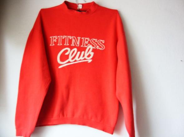 Czerwona bluza Fitness Club R 42 44
