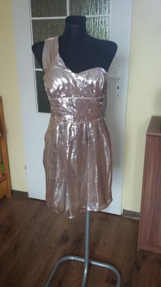 Suknie i sukienki Nowa sukienka Firmy H&M na jedno ramię