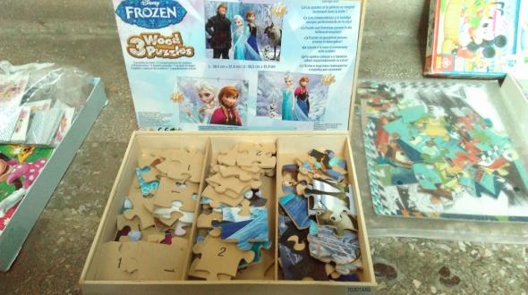 Zabawki Puzzle Frozen Kraina Lodu
